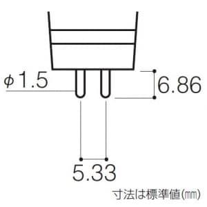 パナソニック 【ケース販売特価 10個セット】ハロゲン電球 ダイクロビーム 50ミリ径 12V 20W 中角 GU5.3口金 【ケース販売特価 10個セット】ハロゲン電球 ダイクロビーム 50ミリ径 12V 20W 中角 GU5.3口金 JR12V20WKM/5-H2_set 画像2