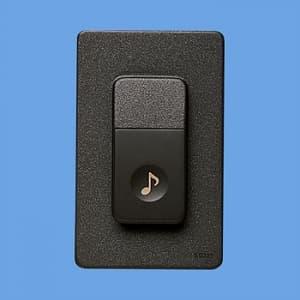 パナソニック チャイム用押釦 ワイド 埋込・露出取付用 防雨形 EG335