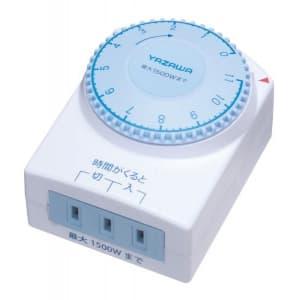 ヤザワ 【生産完了品】カウントダウンタイマーコンセント Y02SHT11WH