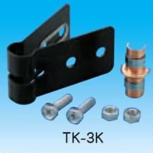 因幡電工 【数量限定特価】パイプロック パイプサポート+固定バンド 空調配管用縦引配管固定金具 TK-3K