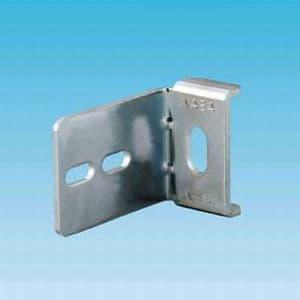 因幡電工 ベース金具 パイプロック用チャンネル・アングル固定金具 SPHC(ユニクロめっき処理) TK-B60