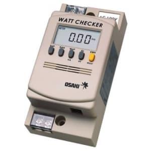 大崎電気工業 【生産完了品】ワットチェッカー 端子タイプ 単相2線式  AC100V/AC200V MWC01