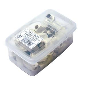 マックステル 【生産完了品】アンテナプラグ 業務用パックタイプ 白 30個入 LP-77W30T