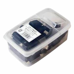 マックステル 【生産完了品】アンテナプラグ 業務用パックタイプ 黒 30個入 LP-77B30T