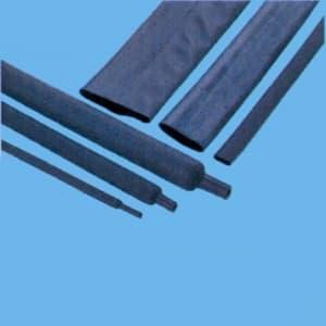 因幡電機 《ジャッピー》熱収縮チューブ 適用電線サイズ:φ2.4〜3.6mm 長さ:250mm 黒 20本入 JTC4.0-BK