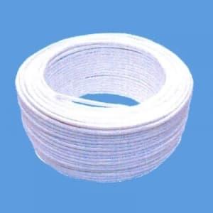 因幡電機 《ジャッピー》マーカー用絶縁チューブ 白 内径:φ4.0mm 肉厚:0.4mm 長さ:100m マーカーチューブ4.0×0.4シロ