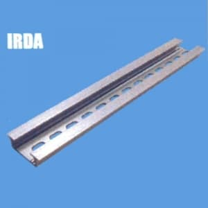 因幡電機 《ジャッピー》DINレール 長さ:1000mm 幅:35mm 高さ:10mm 板厚:1.5mm IRDA-100