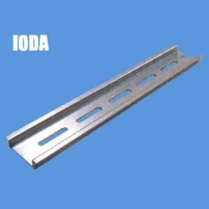 因幡電機 《ジャッピー》DINレール 長さ:500mm 幅:35mm 高さ:7.5mm 板厚:1.5mm IODA-50