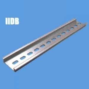 因幡電機 《ジャッピー》DINレール 長さ:1000mm 幅:35mm 高さ:7.5mm 板厚:1.5mm IIDB-100