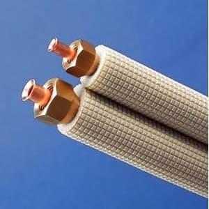 因幡電工 フレア配管セット 4m フレアナット付 配管部材なし 対応冷媒:2種 SPH-234-C