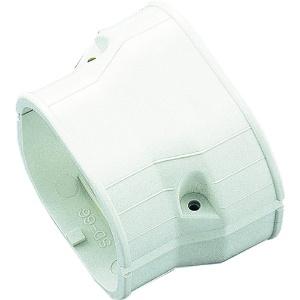 因幡電工 スリムダクトSD 異径ジョイント 異径ダクト接続用 100タイプ⇔77タイプ アイボリー SDR100-77-I