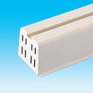 因幡電工 プラロック端末カバー アイボリー 適合プラロック350系 2枚入 PRC-351N