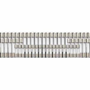 ヤザワ 【在庫限り】ミニガラス管ヒューズ 125V 0.2A 長さ:20mm 4個入 GF02125M