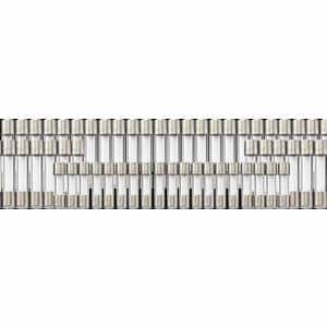 ヤザワ 【在庫限り】ガラス管ヒューズ 125V 1.5A 長さ:30mm 4個入 GF15125