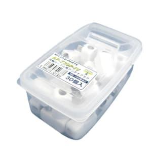 ミヤコパーツ 【生産完了品】アンテナプラグ白 30個パック プロパックタイプ AP-730PIV