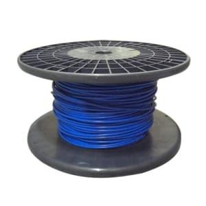 電気機器用ビニル絶縁電線 青 100m巻 KIV8.0SQアオ*100m