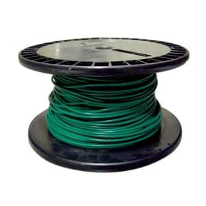 電気機器用ビニル絶縁電線 緑 100m巻 KIV8.0SQミドリ*100m