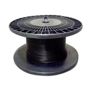 電気機器用ビニル絶縁電線 100m巻 黒 KIV5.5SQ×100mクロ