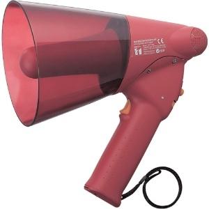 サイレン音付小型防滴メガホン 6W ER-1106S