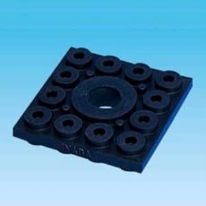 因幡電工 防振パット 振動伝達防止用緩衝材 GPS-50-50