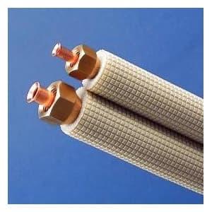 因幡電工 フレア加工済み空調配管セット 2分4分 3m SPH-F243