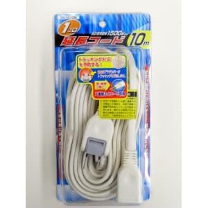 ヤザワ 【生産完了品】【アウトレット品】延長コード 白 1個口 10m SN1510W_outlet