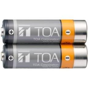 TOA 赤外線マイク用充電電池 2本入 IR-200BT-2