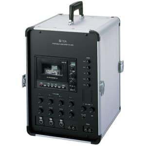 TOA 【生産完了品】移動用PAアンプ 30W×2ch ダイバシティチューナーユニット(WT-1820)2台内蔵 KZ-30D