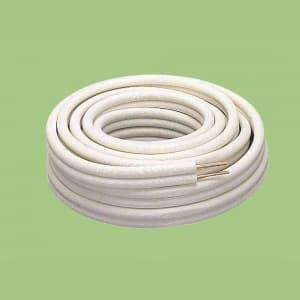 関東器材 ペアコイル/ペアチューブ 被覆銅管 3分5分 長さ20m KP-35
