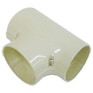 因幡電工 T型ジョイント 分岐用 90サイズ 配管化粧カバー ビル設備用 《スリムダクトPD》 PDT-90-I