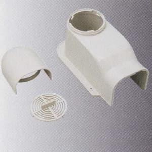 桃陽電線 《トーヨーダクトシリーズ》 排塵換気キャップ 80タイプ アイボリー DHC-80IV