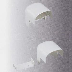 桃陽電線 《トーヨー屋内ダクトシリーズ ワイドダクト-95》 ワイドダクトアウトコーナー パールホワイト WDOK-95