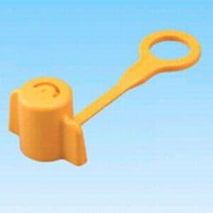 因幡電工 【生産完了品】樹脂管用水圧テストプラグ 《らくプラグ RK》 イエロー 10個入 RK-13