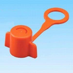 因幡電工 【生産完了品】樹脂管用水圧テストプラグ 《らくプラグ RK》 オレンジ 10個入 RK-16X