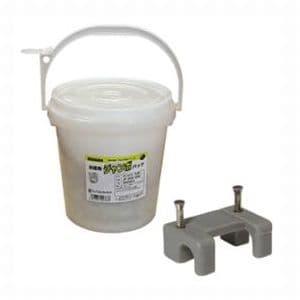 ジェフコム お徳用ジャンボパック コンクリート用 コンタックサドル 適用電線:VVF1.6×2C、VVF2.0×2C 入数:700個 JP-JC-10