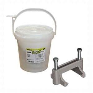ジェフコム お徳用ジャンボパック コンクリートFダッコサドル 適用電線:VVF1.6×2C、VVF2.0×2C 入数:1300個 JP-CFD-11