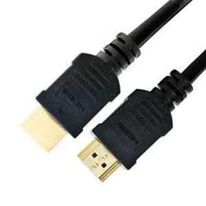 ソリッドケーブル 【販売終了】HDMIケーブル ブラック 0.5m HDMIケーブル0.5M