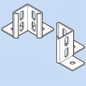 因幡電工 アングルコーナー ベース部・ツバ2方向出 1set=2個入 LAK-3