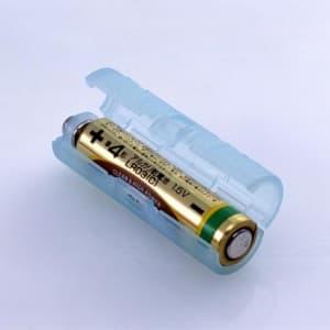 旭電機化成 単4が単3になる電池アダプター 2個入 ブルー ADC-430BL