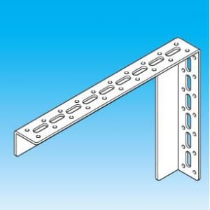 因幡電工 【数量限定特価】L型ブラケットM仕様 横長穴付 材質(表面処理):ユニクロ LBM-1