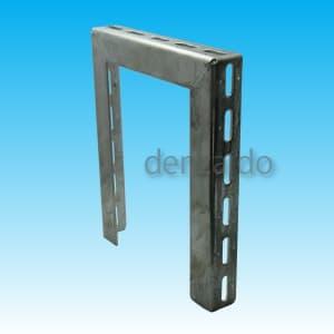 因幡電工 門型ブラケット 横長穴付 表面処理:溶融亜鉛メッキ仕上げ(HDZ35) MB-253