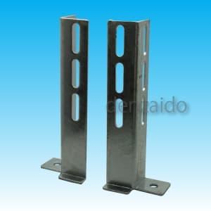 因幡電工 ブラケットベース 表面処理:溶融亜鉛メッキ仕上げ(HDZ35) MBB-1