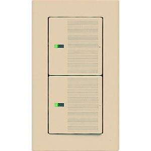 パナソニック 【コスモシリーズワイド21】表示付ハンドル ネームなし ダブル ベージュ WT3022F