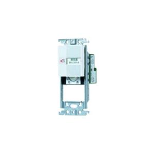 パナソニック 【コスモシリーズワイド21】埋込[電子]換気扇 遅れ停止スイッチ 2個所操作形 「入」「切」表示スイッチ0.5A+スイッチスペース ホワイト WTC53515W