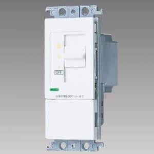 パナソニック 【コスモシリーズワイド21】埋込調光スイッチB 白熱灯用500W スライド式 ホワイト AC100V 500W WT57615WK
