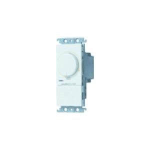 パナソニック 【コスモシリーズワイド21】埋込調光スイッチB 白熱灯用500W ロータリー式 ホワイト AC100V 500W 400W制限表示タイプ WT575154W