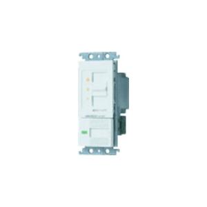 パナソニック 【コスモシリーズワイド21】埋込調光スイッチC ほたるスイッチC 白熱灯用500W スライド式 ホワイト AC100V 500W WTC57625WK