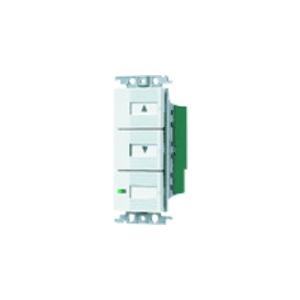 パナソニック 【コスモシリーズワイド21】埋込[電子]調光スイッチ 子器 ホワイト WTC5682W