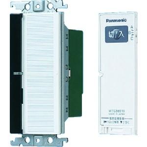 パナソニック 【コスモシリーズワイド21】とったらリモコン 2線式 親器 3路配線対応形 入/切用・3チャンネル形 ホワイト WTC56212W