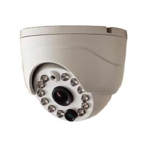 コロナ電業 【生産完了品】《Telstar》マイク・赤外線投光器内蔵 ドーム型カラーカメラ TR-2500DI